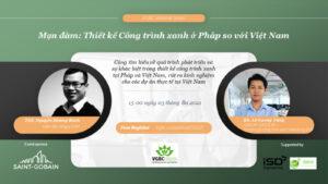 VGBC Webinar: Thiết kế Công trình xanh ở Pháp so với Việt Nam
