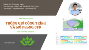 VGBC Online training: Ventilation in buildings and CFD simulation