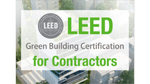 Training Course: LEED for Contractors